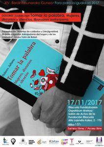 Cartel Jornada 17 11 2017