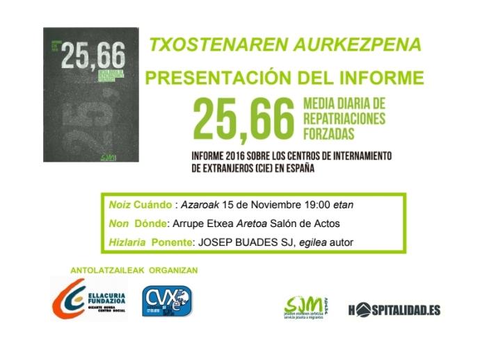Presentación cie 2016 Bilbao